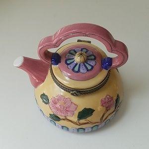Tea Kettle Trinket Box!🍵